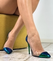 Pantofi Stiletto / Joca Greenish