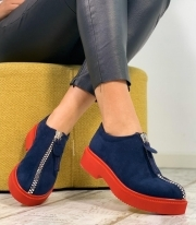 Patofi Casual / Angel Blue & Red PN