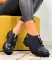 Pantofi Casual / Rita Simple Black