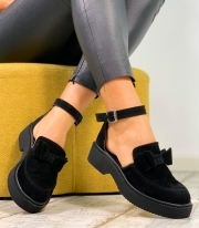 Sandale Dama / Calipso Simple Black PN
