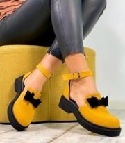 Sandale Dama / Calipso Yellow & Black