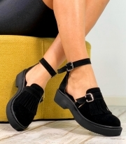 Sandale Dama / Tara Simple Black PN