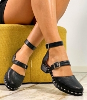 Sandale Dama / Holly Black Croco