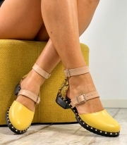 Sandale Dama / Holly Yellow & Snake