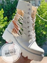 Ghete de vara / TF White Laces