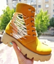 Ghete de vara / TF Yellow Laces