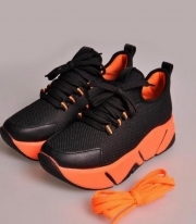 Adidasi Dama / Costa Black & Orange