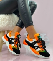 Adidasi Dama / Hunt Black & Orange