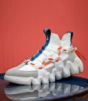 Adidasi Dama / ArielX White & Orange