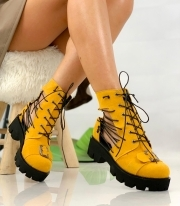 Ghete de vara / Alegria Yellow Laces PN