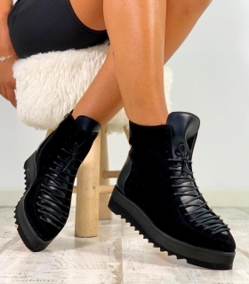 Pantofi Casual / Long Adonis Black PN